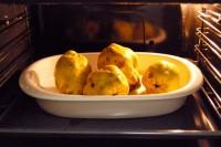colocar los membrillos en el horno