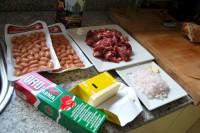 Los ingredientes (casi) al completo