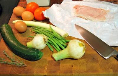 Ingredientes para la Tortilla